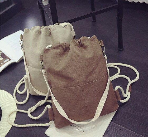 帆布 單肩背包 旅行背包 雙肩背包 休閒包 後背包