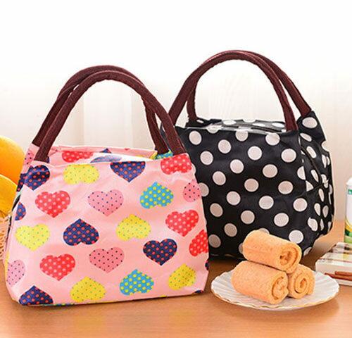 ego:加厚帆布手提袋便當袋學生手提便當袋飯盒袋