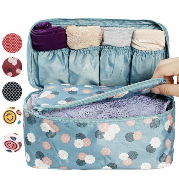ego:新款第四代內衣收納包收納袋外宿旅行化妝包手提包洗漱包盥洗包大號