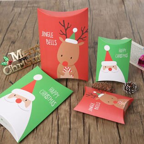 ego:聖誕節聖誕佈置包裝盒禮物禮盒包裝交換禮物聖誕裝飾聖誕老人聖誕老公公小號