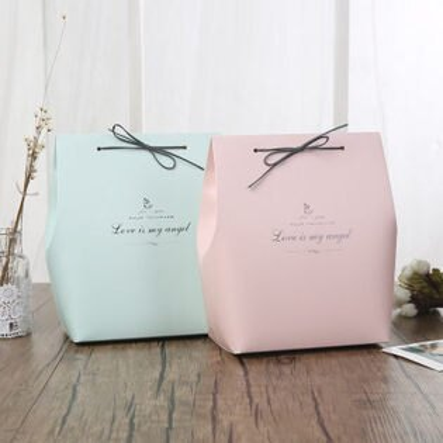 ego:韓國創意情人節聖誕禮物包裝袋情人禮包裝盒禮物盒交換禮物情侶禮物包裝