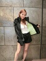 Superdry極度乾燥-女外套/風衣推薦到【現貨】2017新款 極度乾燥Superdry 女款 三拉鍊 外黑內裏哈密瓜綠色  防風連帽風衣外套?就在Style Shop美飾風格推薦Superdry極度乾燥-女外套/風衣