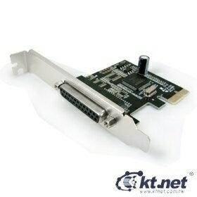 [富廉網]【KTNET】KTCAPIEMOS9901-1P PCI-E 25母*1P 9901 印表機擴充卡