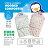 『121婦嬰用品館』PUKU 春夏印花包巾 - 普普風 4