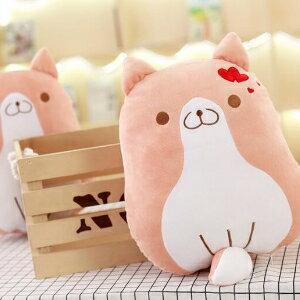 美麗大街~HB153~ 柯基犬公仔狗狗抱枕毛絨玩具情侶玩偶布娃娃抱枕