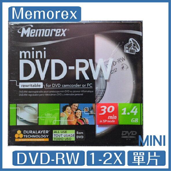 iPanic memorex 8公分 1~2X DVD-RW DVD CAM單片