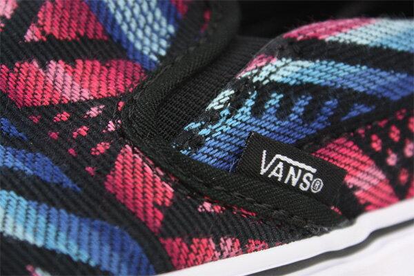 VANS Classic Slip-On 休閒鞋 黑紅 男女款 62010817 no453 3
