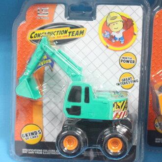 一般怪手 仿真慣性挖土機玩具(明吊式)/一台入{促80}~CF108072