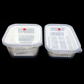 【珍昕】KEYWAY 小廚師保鮮盒系列~2種尺寸(方型970ml.長型890ml)