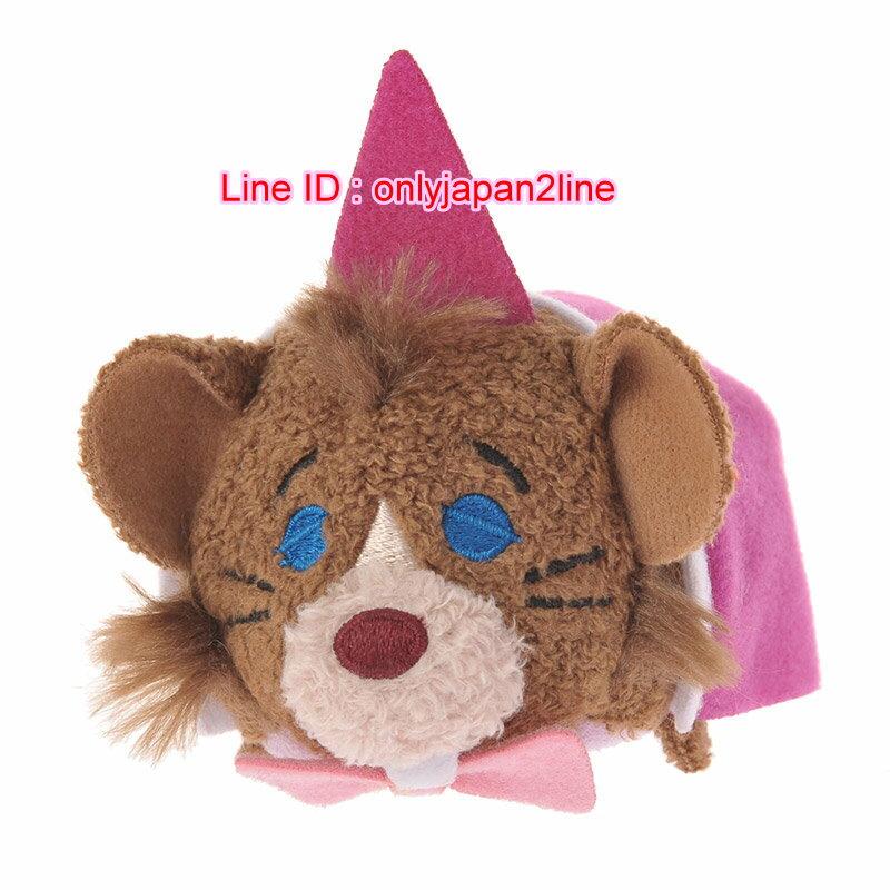 【真愛日本】16101200020 專賣店限定tsum娃S-睡鼠    迪士尼 愛麗絲夢遊仙境  疊疊樂  手玉娃娃