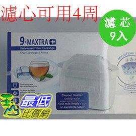 [4周用濾心] C115028 COSCO BRITA MAXTRA PLUS FIL TER 濾芯9入 德國進口濾水壺專用濾芯