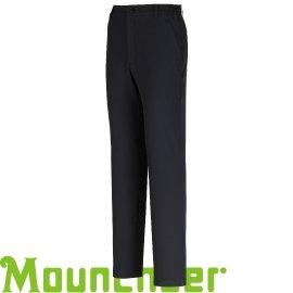 【【蘋果戶外】】山林11S19-01黑色Mountneer男四向彈性抗UV長褲彈性褲排汗褲吸濕快乾透氣