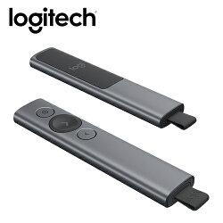 【logitech 羅技】SPOTLIGHT簡報器-質感灰 【限量送束口收納袋】【三井3C】