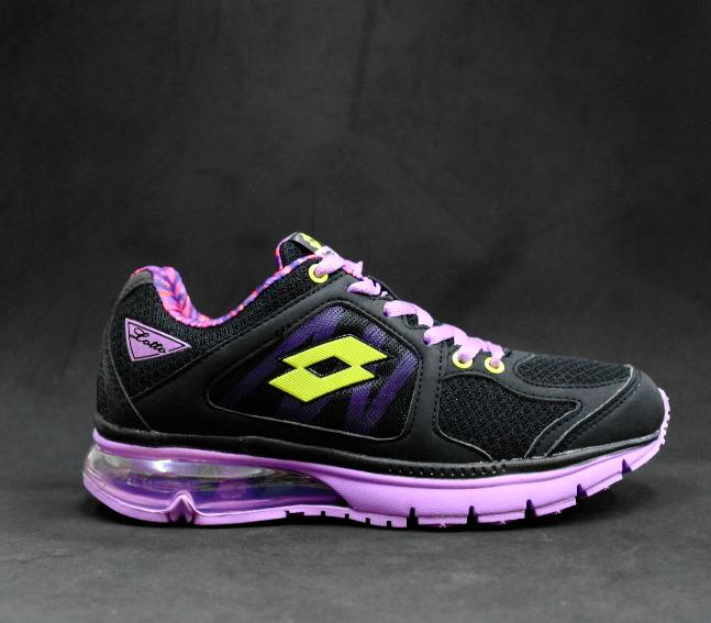 ※8 eight 購購 shop※Lotto 氣墊慢跑鞋 運動鞋 原價1380元 特價790元 黑紫色