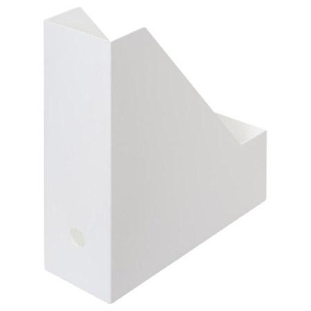 A4 L型文件整理盒 檔案整理架 全白 NITORI宜得利家居