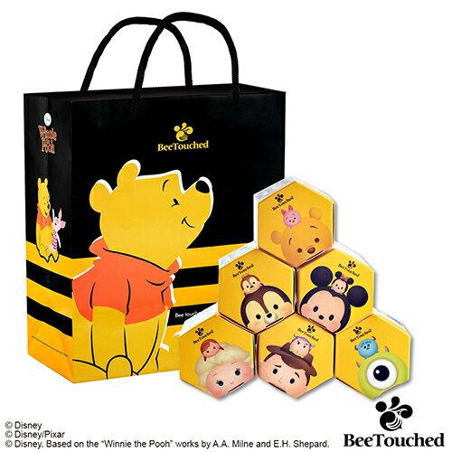 蜜蜂工坊- 迪士尼tsum tsum系列手作蜂蜜( 完整六入組)  ★ 米奇+維尼+胡迪+艾莎+大眼仔+奇奇 ★ 送 維尼提袋 0