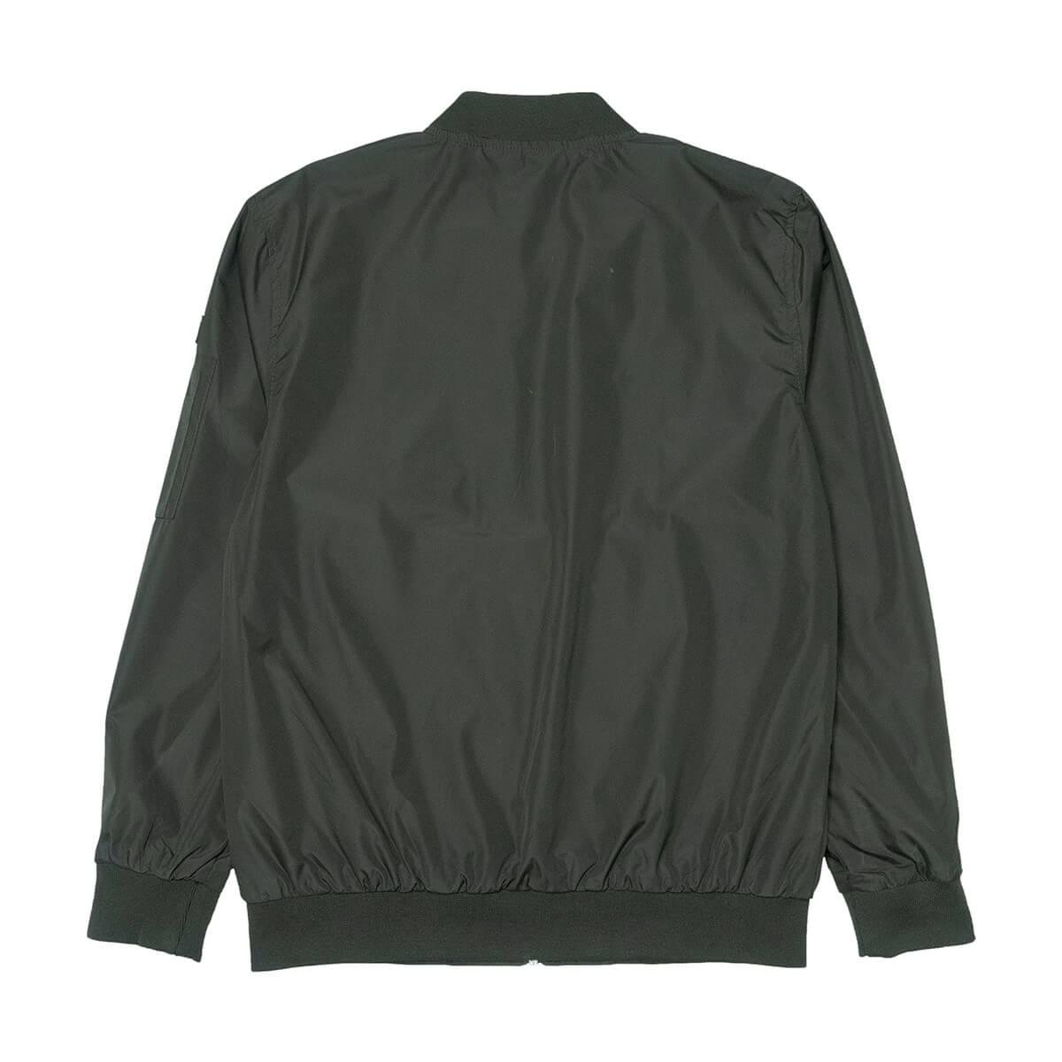 MA-1飛行外套 飛行夾克 空軍外套 防風外套 潮流時尚休閒外套 立領外套 黑色外套 MA-1 Flight Jacket Men's Jackets Casual Jackets (321-889-01)軍綠色、(321-889-02)黑色 M L XL (胸圍114~124公分  45~49英吋) 男 [實體店面保障] sun-e 2