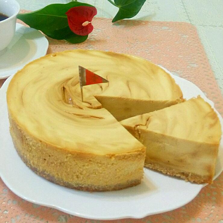 太妃糖重乳酪︱乳酪蛋糕︱手工熬煮太妃糖︱6吋︱8吋