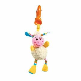 【淘氣寶寶●同價位商品 第二件 66折】Tiny Love 夾偶-抖抖小羊【隨身攜帶並可掛在嬰兒推車、提籃汽座及嬰兒床上】
