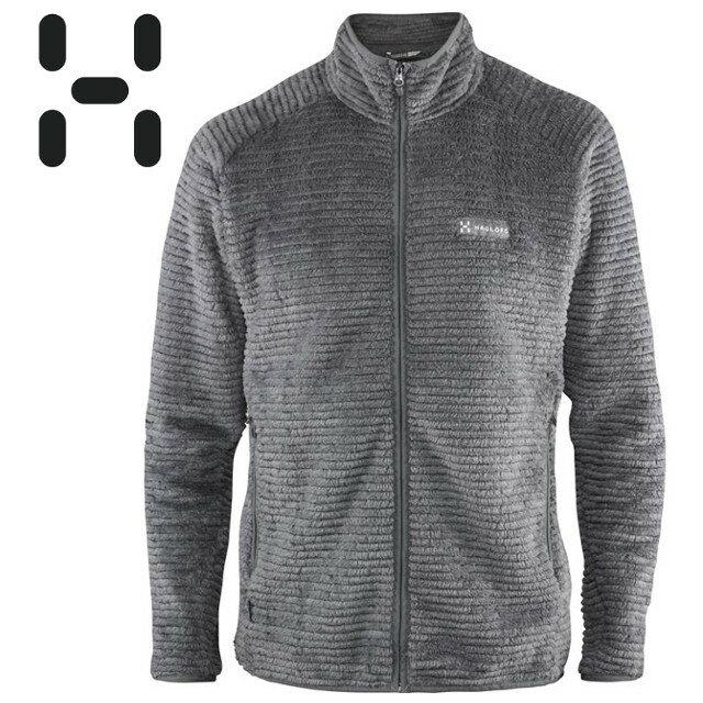 HAGLOFS 刷毛外套/保暖外套/保暖中層衣/Thermal Pro/EXTENT JACKET 男款 603419.2AT黑灰