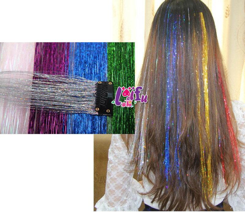 ★草魚妹★W86髮片挑染髮片亮絲髮片仿真髮假髮髮片,1條售價30元