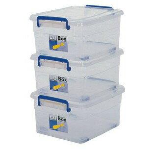 keyway聯府 EQ-20 (S)活力箱 整理箱 透明白色 雙扣 衣帽盒 褲襪櫃 尿布箱 玩具 露營 野外(伊凡卡百貨)