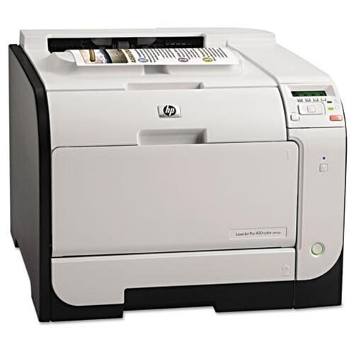 HP M451dw LaserJet Pro 400 Color Printer 1