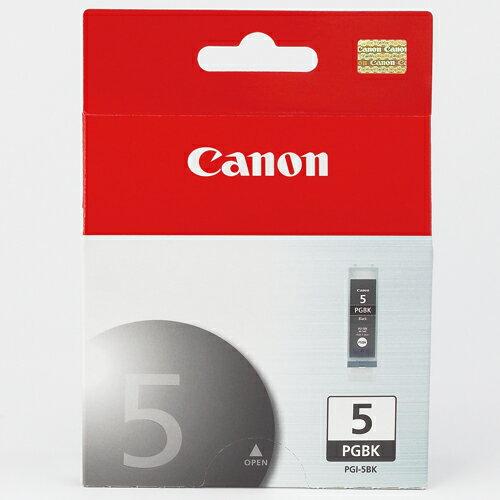 【CANON 墨水匣】PGI-5BK 黑色原廠高容量墨水