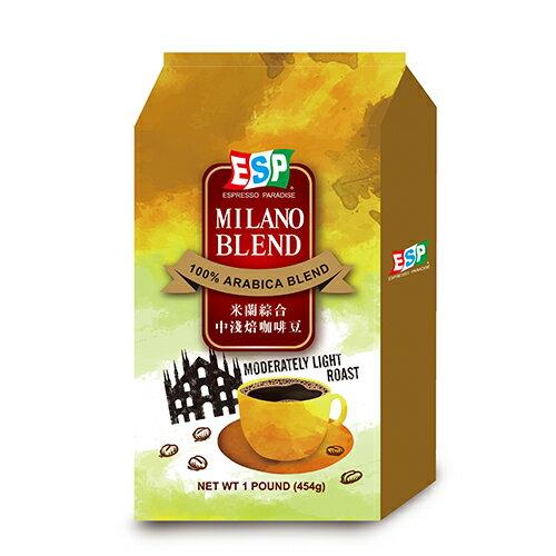 西雅圖米蘭綜合中淺焙咖啡豆454g【愛買】
