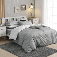 新品-床包組 雙人精梳純棉床包組、薄被套任選/多款花色[鴻宇]台灣製