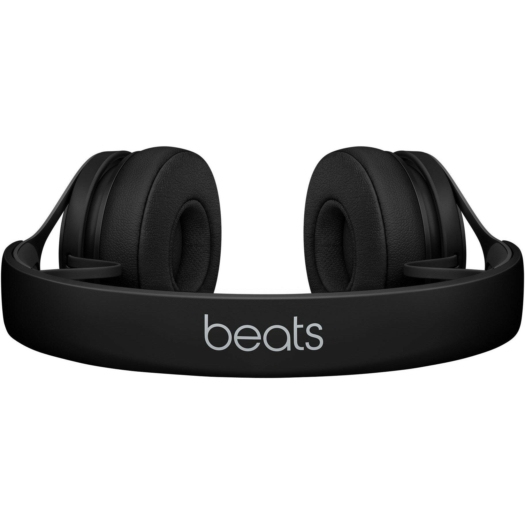 Beats by Dr. Dre EP On-Ear Headphones - Black - Stereo - Black - Mini-phone - Wired - Over-the-head - Binaural - Supra-aural 3