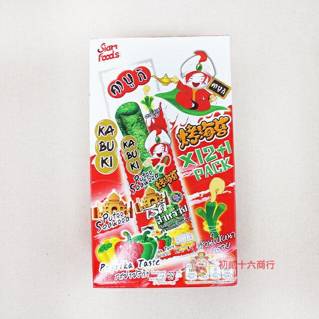 【0216零食會社】Kabuki健康紫菜捲-辣味