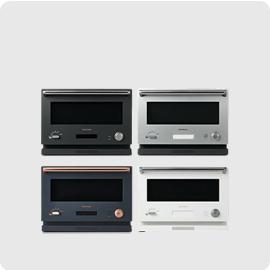 日本公司貨 附中說無食譜 BALMUDA【K04A】微波烤箱 18L 液晶顯示