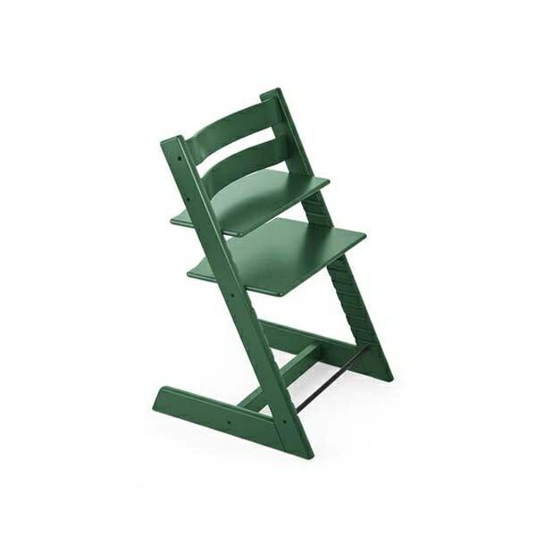 STOKKETrippTrapp®成長椅(櫸木森林綠)餐椅