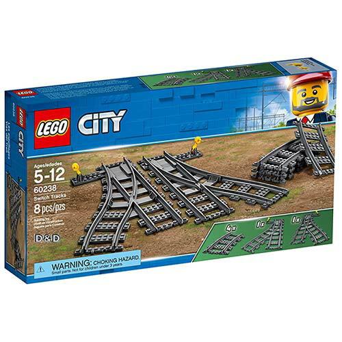 樂高積木LEGO《 LT60238》2018 年 CITY 城市系列 - 切換式軌道