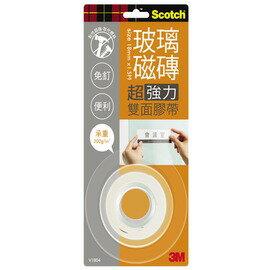 3M Scotch VHB超強力雙面膠帶-玻璃磁磚專用18mm(V1804)