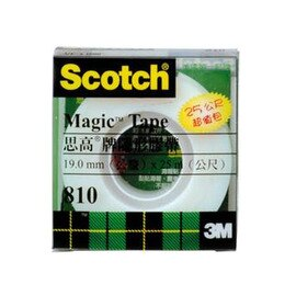 3M Scotch 810LM 隱形膠帶(透明盒)19mm*25M