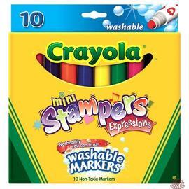 Crayola 10色彩色印章筆58-8140