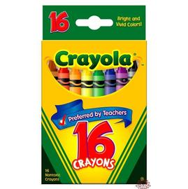 Crayola 16色臘筆52-3016