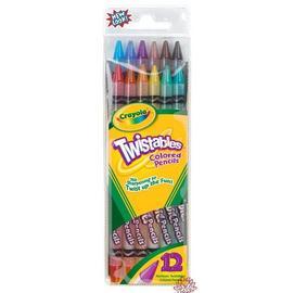 Crayola 12色旋轉式彩色鉛筆68-7408