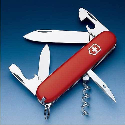 Victorinox  維氏12用瑞士刀(紅)