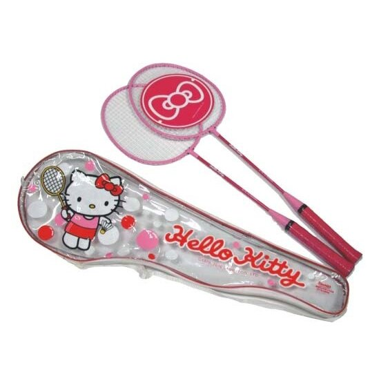 成功 Hello Kitty 雙人羽球拍(A231)羽拍【此商品因體積過大,無法超商取貨】