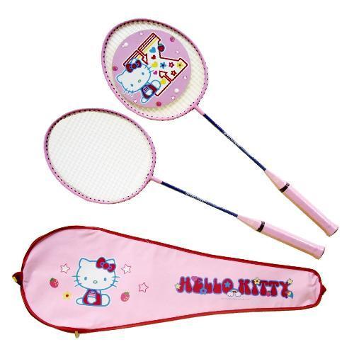 成功 Hello Kitty 雙人羽球拍組 A221 【此商品因體積過大,無法超商取貨】