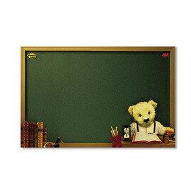 3M558M-B熊熊可再貼備忘板180×250mm