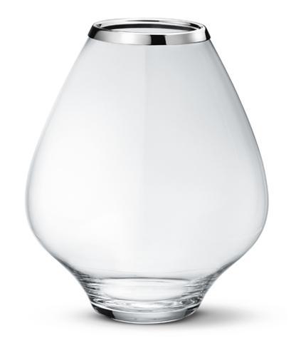 丹麥 Georg Jensen Grace Glass Vase 玻璃水滴 花瓶 大尺寸