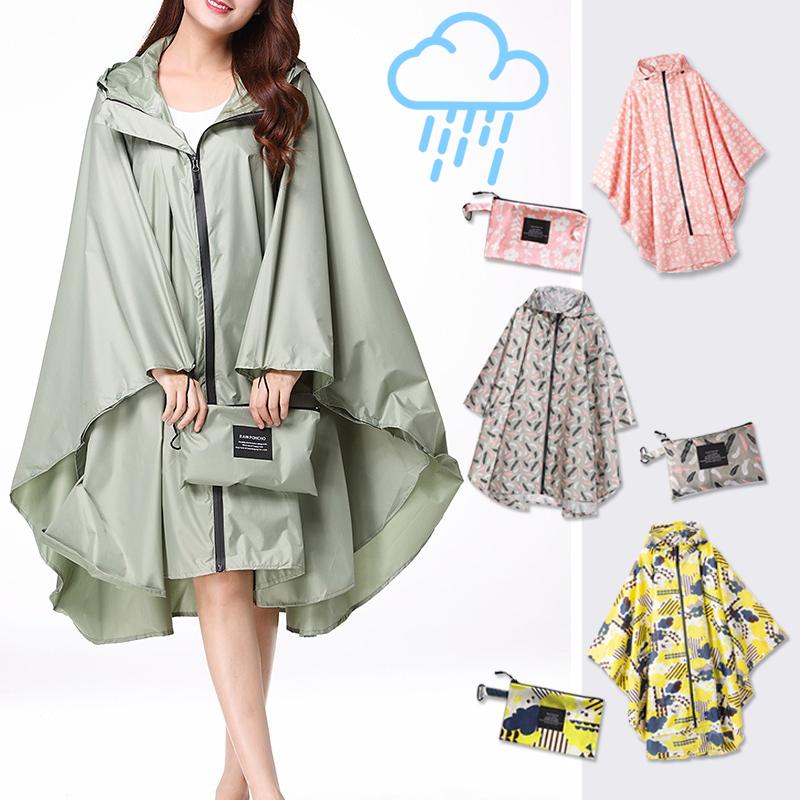 【日系超輕薄收納斗篷雨衣】防風雨衣 機車雨衣 反光雨衣 斗篷式雨衣 摩托車雨衣 輕便雨衣【AB397】