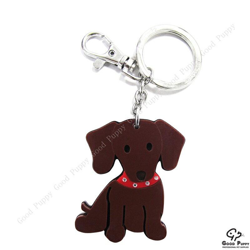 加拿大進口狗狗寵物鑰匙圈-臘腸狗92657 Dachshund* 吊飾/鑰匙扣/鑰匙圈/小禮物/贈品