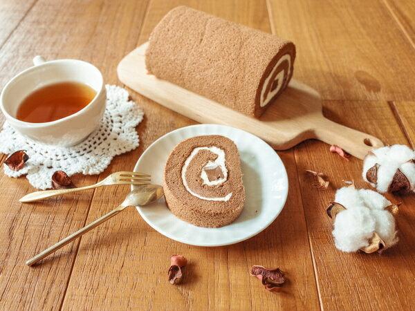 日本天皇獎-生巧克力捲16CM 生巧克力條X巧克力蛋糕X招牌生奶油 雙重巧克力口感征服您胃蕾 6