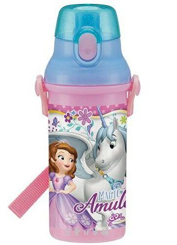 【百倉日本舖】日本製Disney蘇菲亞小公主水壺/兒童水壺/直飲式水壺