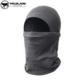 [ WILDLAND 荒野 ] 遠紅外線保暖帽 中灰 / 0A02022-92-F